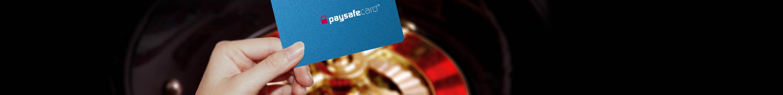 Droši maksājumi, spēlējot ruleti, — Paysafecard